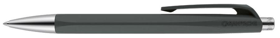 Ручка шариковая Carandache Office INFINITE (888.495) корпус:Slate Gray M синие чернила без упак.