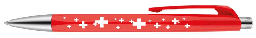 Ручка шариковая Carandache Office INFINITE (888.253) корпус:Swiss Cross M синие чернила без упак.