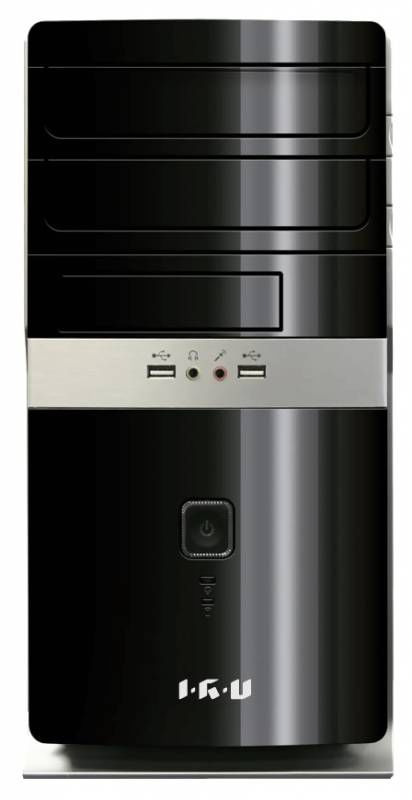 Компьютер  IRU City 319,  Intel  Core i3  3250,  DDR3 4Гб, 500Гб,  Intel HD Graphics 2500,  Windows 7 Professional,  черный [314009]