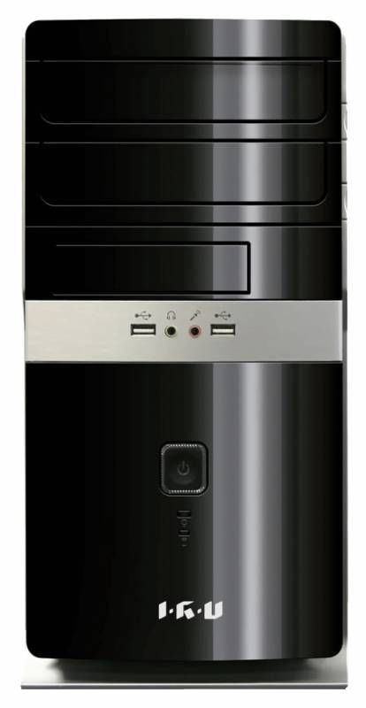 Компьютер  IRU City 319,  Intel  Core i3  4160,  DDR3 4Гб, 1Тб,  Intel HD Graphics 4400,  DVD-RW,  Windows 7 Professional,  черный [314016]