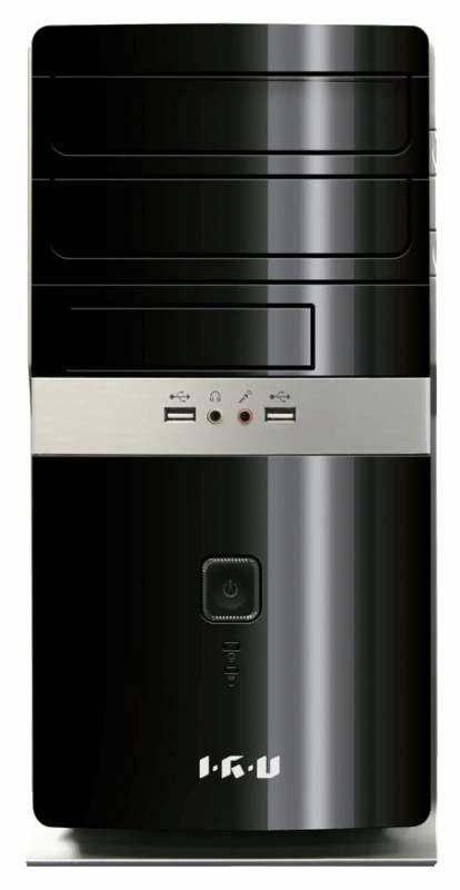 Компьютер  IRU City 519,  Intel  Core i5  4460,  DDR3 4Гб, 500Гб,  Intel HD Graphics 4600,  DVD-RW,  Windows 7 Professional,  черный [314025]