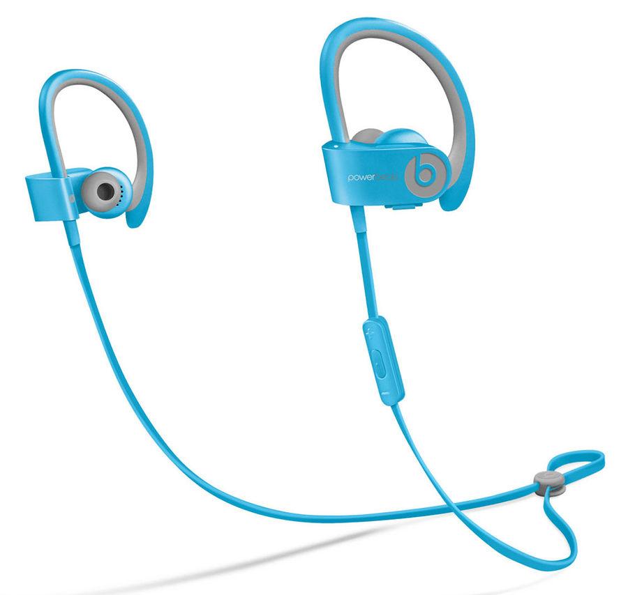 Наушники BEATS Powerbeats 2 WL, MHBV2ZM/A, синий, беспроводные bluetooth