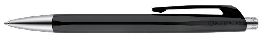 Ручка шариковая Carandache Office INFINITE (888.009_GB) Black M синие чернила подар.кор.