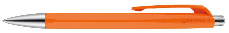 Ручка шариковая Carandache Office INFINITE (888.030_GB) оранжевый M синие чернила подар.кор.