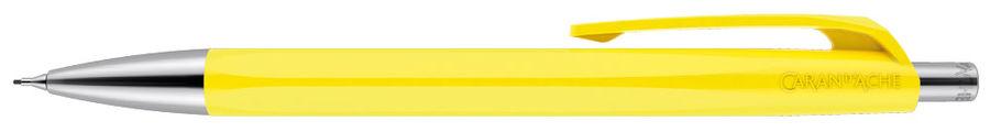 Карандаш механический Carandache Office INFINITE (884.240_GB) Lemon Yellow 0.7мм подар.кор.