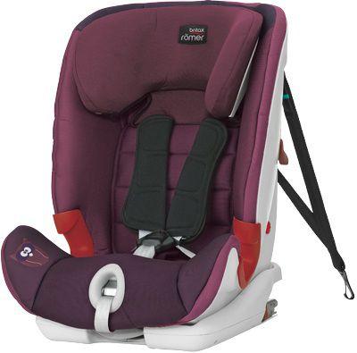Автокресло детское ROMER Advansafix Dark Grape Trendline, 1/2/3, фиолетовый [2000012269]
