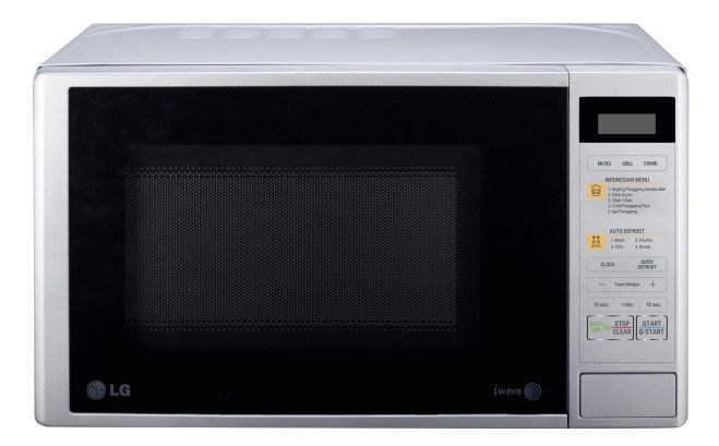 Микроволновая печь LG MH6042D, белый