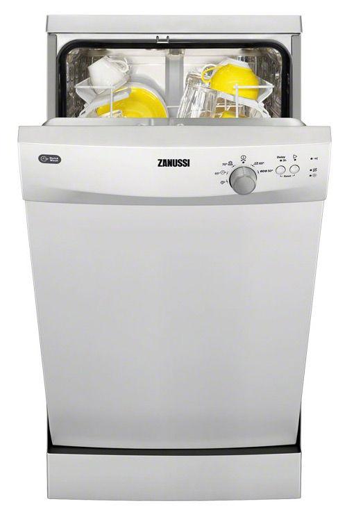Посудомоечная машина ZANUSSI ZDS91200SA,  узкая, белая