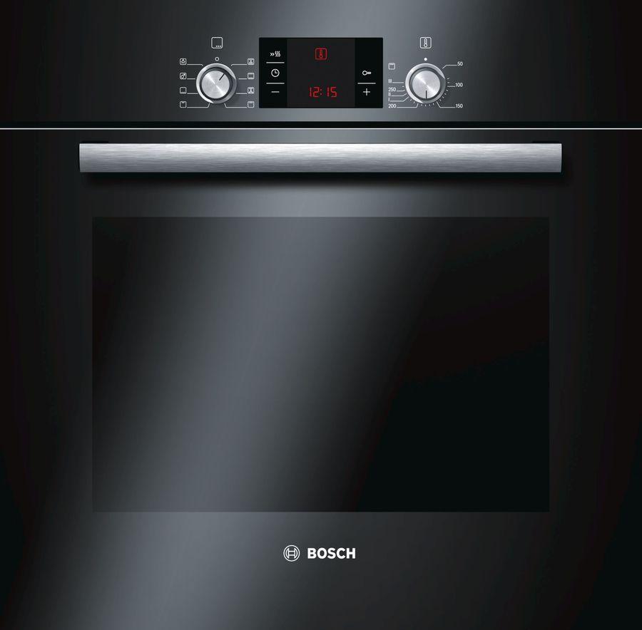 Духовой шкаф BOSCH HBG23B360R,  черный