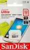 Карта памяти microSDHC UHS-I SANDISK Ultra 32 ГБ