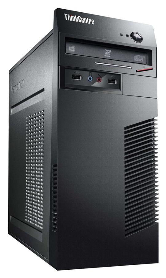 Компьютер  LENOVO ThinkCentre M73,  Intel  Core i3  4160,  DDR3 4Гб, 500Гб,  Intel HD Graphics 4400,  DVD-RW,  Windows 7 Professional,  черный [10b1s13s00]