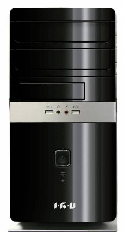 Компьютер  IRU City 319,  Intel  Celeron  G1840,  DDR3 2Гб, 500Гб,  Intel HD Graphics,  Windows 8.1,  черный [315567]