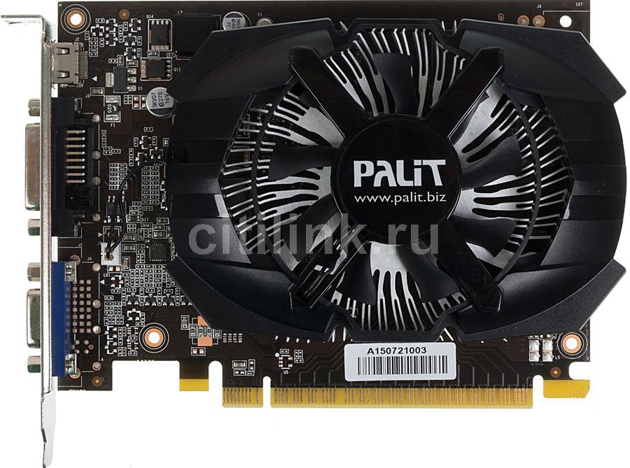 Видеокарта PALIT GeForce GT 740,  PA-GT740-OC-1GD5,  1Гб, GDDR5, OC,  oem [ne5t740s1301-1073f bulk]