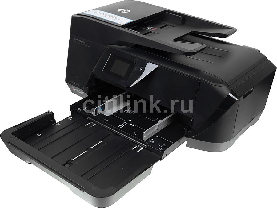 МФУ HP OfficeJet 7510, A3, цветной, струйный, черный [g3j47a]
