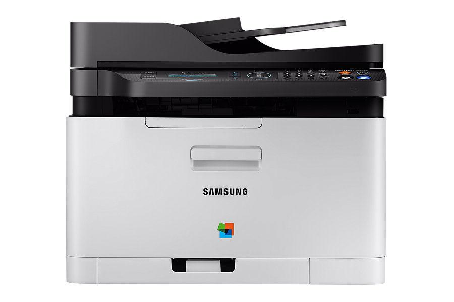 МФУ SAMSUNG SL-C480FW,  A4,  цветной,  лазерный,  серый [sl-c480fw/xev]