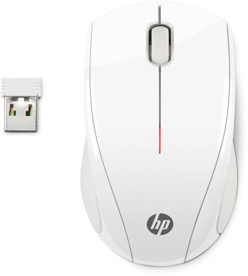 Мышь HP X3000 оптическая беспроводная USB, белый [n4g64aa]