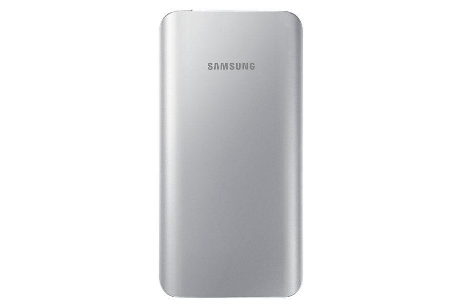 Внешний аккумулятор SAMSUNG EB-PA500,  5200мAч,  серебристый [eb-pa500usrgru]
