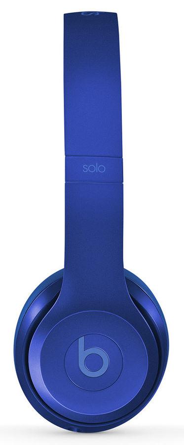 Гарнитура BEATS Solo 2, MJW32ZM/A, накладные,  синий/голубой, проводные