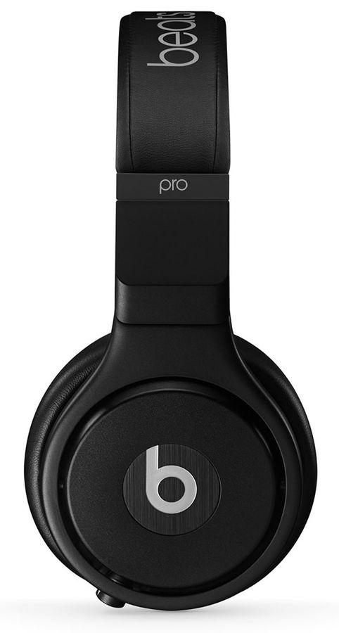 Наушники мониторы Beats Pro 1.52м черный матовый проводные