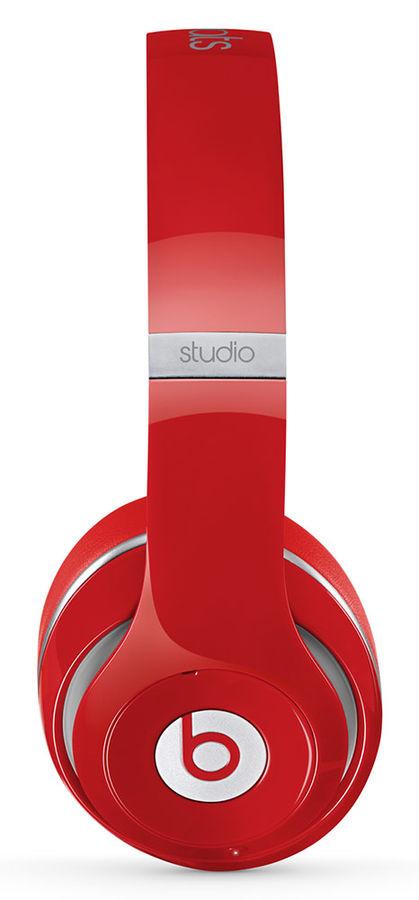 Наушники мониторы Beats Studio Wireless красный беспроводные bluetooth