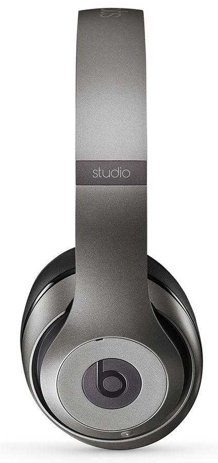 Наушники мониторы Beats Studio Wireless титановый беспроводные bluetooth