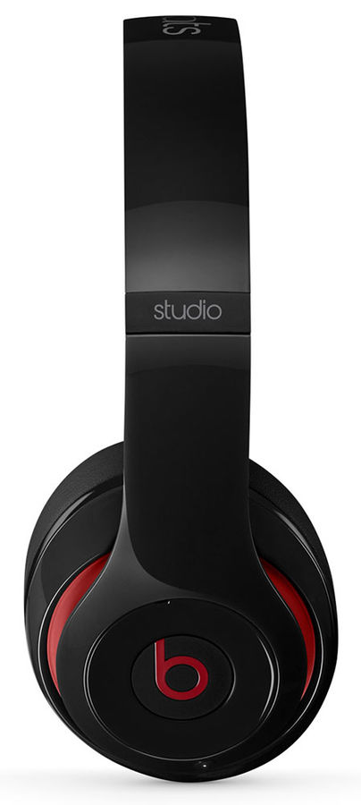 Наушники мониторы Beats Studio 2 1.36м черный проводные