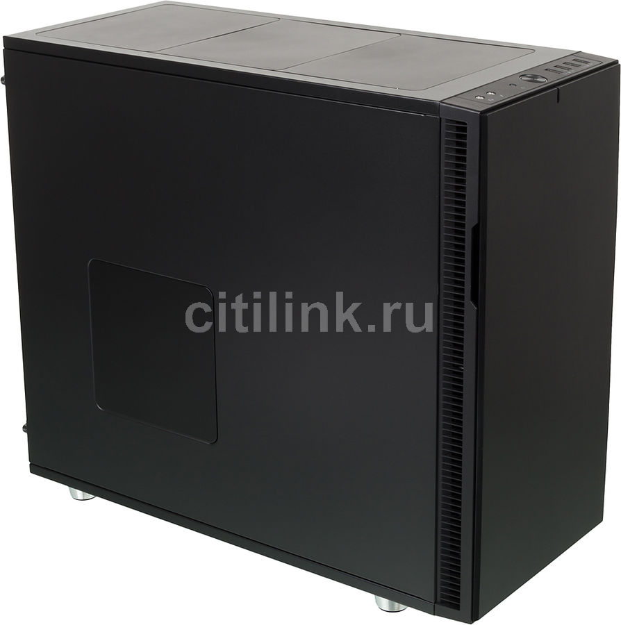 Корпус ATX FRACTAL DESIGN Define R5, Midi-Tower, без БП, черный корпус matx fractal design define mini c tg mini tower без бп черный