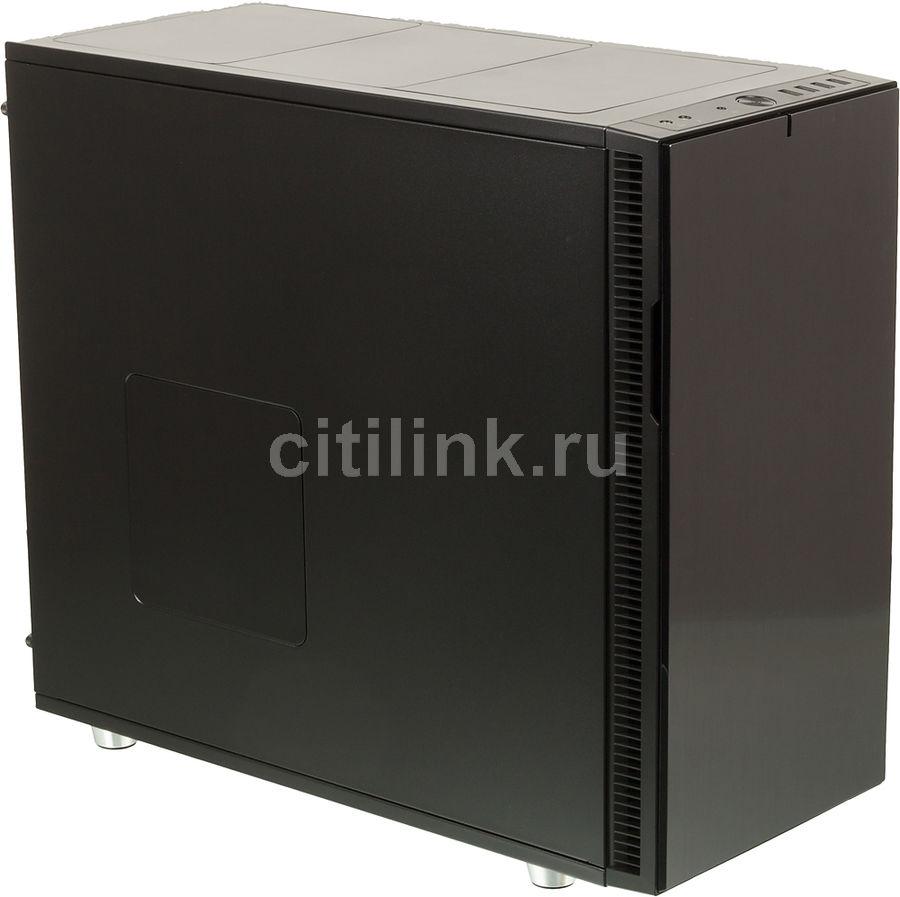 Корпус ATX FRACTAL DESIGN Define R5 Titanium, Midi-Tower, без БП,  черный и серебристый