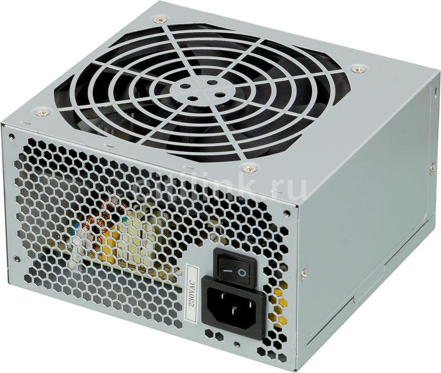 Блок питания FSP ATX 500W ATX-500PNR-I (24+4+4pin) APFC 120mm fan 3xSATA(Б/У)