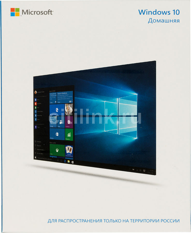 ������������ ������� MICROSOFT Windows 10 ��������, 32/64 bit, Rus, Only USB, USB [kw9-00253]