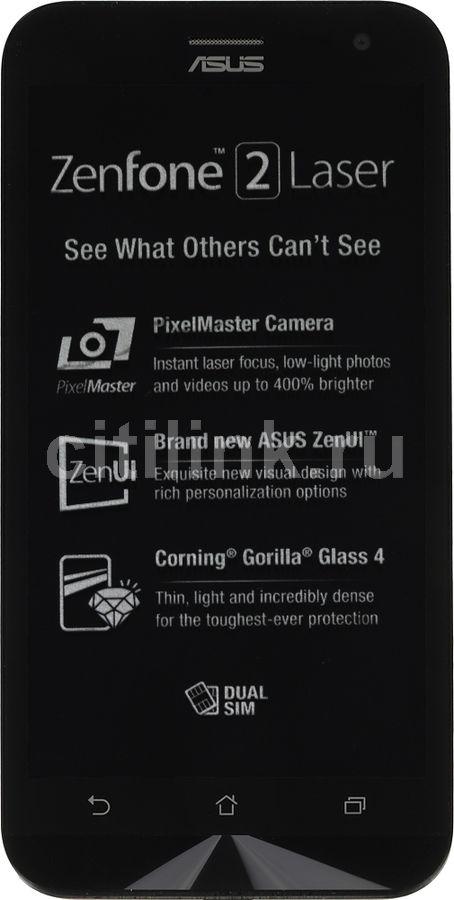 Смартфон Asus ZE500KL Zenfone 2 Lazer 16Gb черный моноблок 3G 4G 2Sim 5