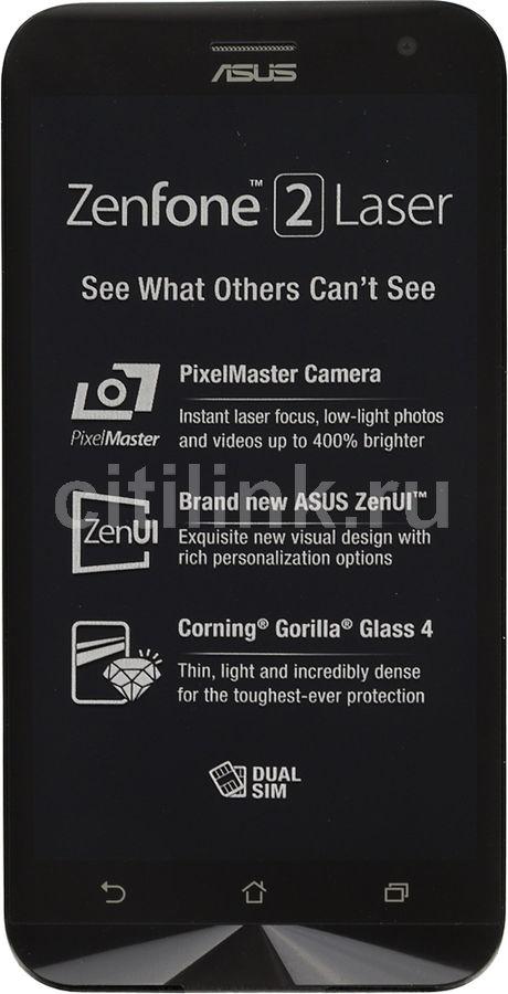 Смартфон Asus ZE500KL Zenfone 2 Lazer 16Gb золотистый моноблок 3G 4G 2Sim 5