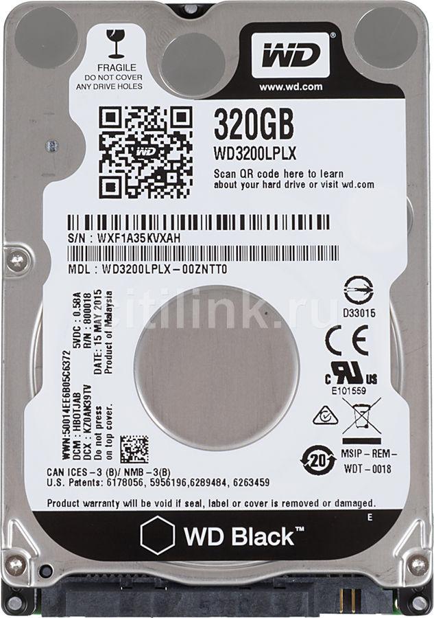 Жесткий диск WD Black WD3200LPLX,  320Гб,  HDD,  SATA III,  2.5
