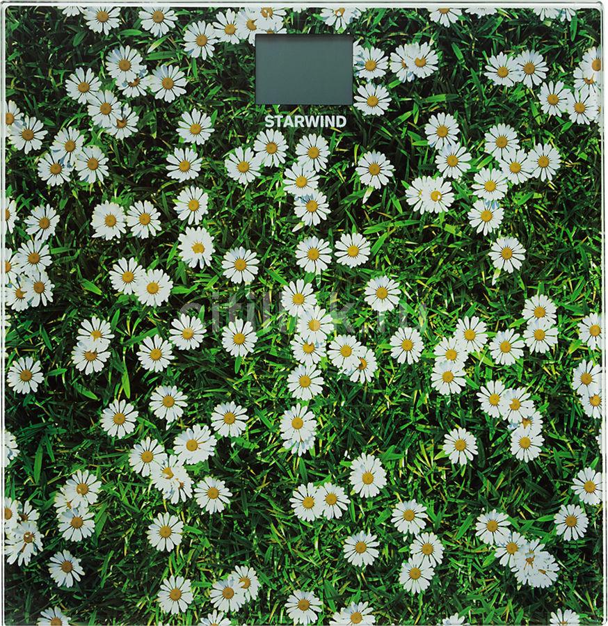 Весы STARWIND SSP2355, до 180кг, цвет: рисунок