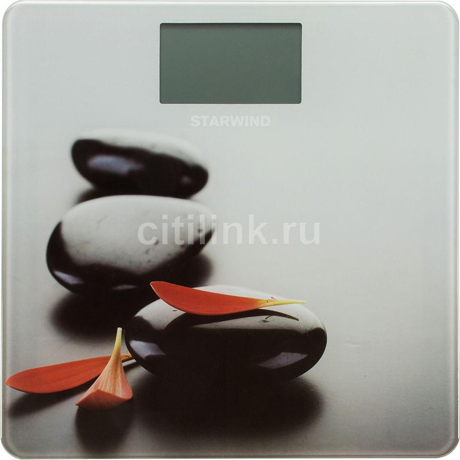 Весы STARWIND SSP3353, до 180кг, цвет: рисунок