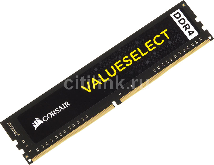 Модуль памяти CORSAIR Value Select CMV4GX4M1A2133C15 DDR4 -  4Гб 2133, DIMM,  Ret