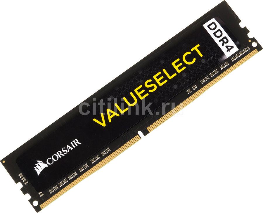 Модуль памяти Corsair Vengeance LED Red DDR4 DIMM 2666MHz PC4-21300 CL16 - 32Gb KIT (2x16Gb) CMU32GX4M2A2666C16R