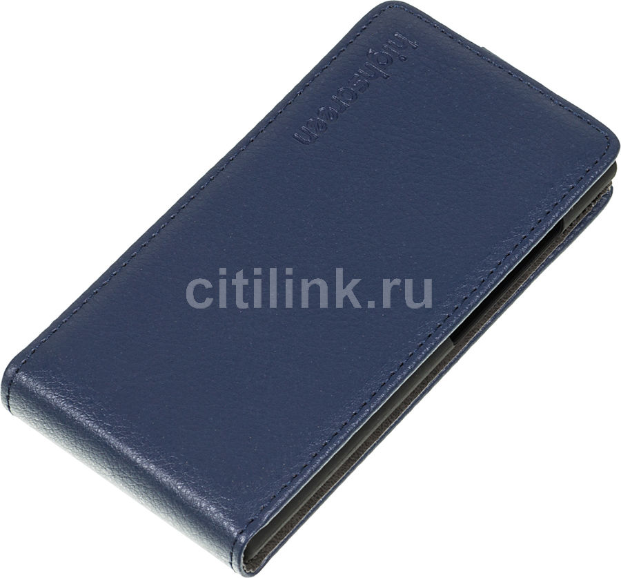 Чехол (флип-кейс) HIGHSCREEN для Highscreen Zera F (rev.S), синий [22394]