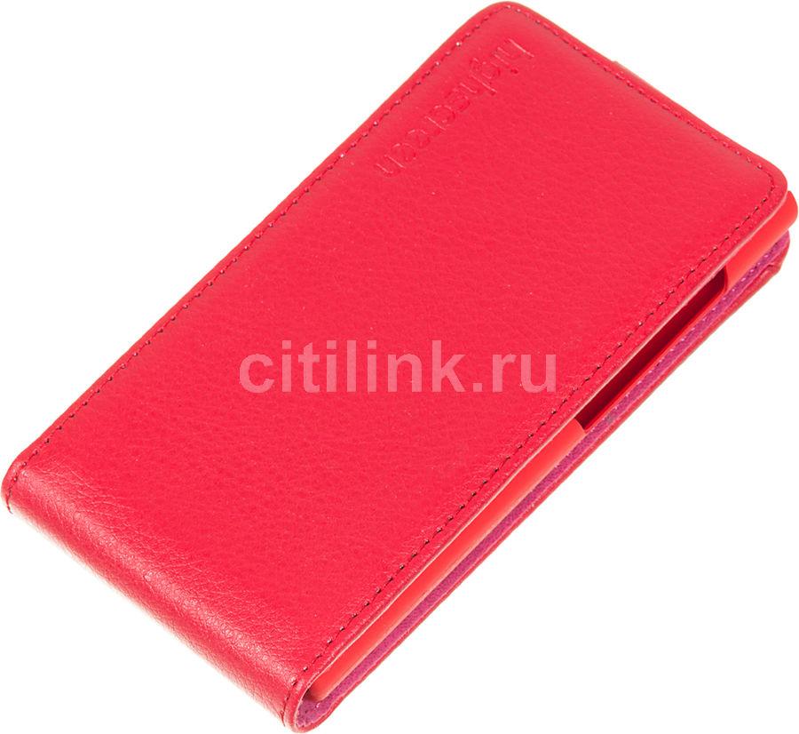 Чехол (флип-кейс) HIGHSCREEN для Highscreen Zera F (rev.S), красный [22395]