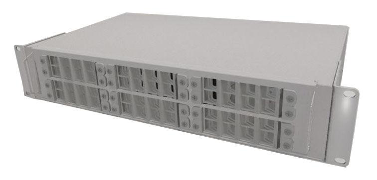 Полка оптическая наборная ЦМО (БОН-19-2-48-В-9005) 19