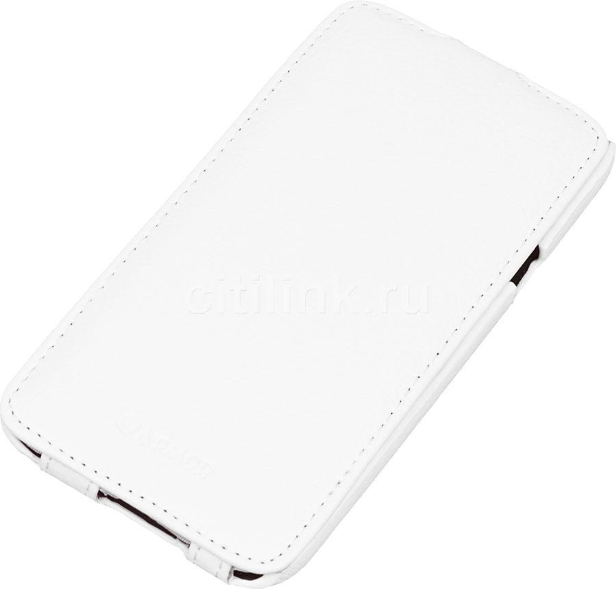 Чехол (флип-кейс) ARMOR-X flip full, для Samsung Galaxy E7, белый
