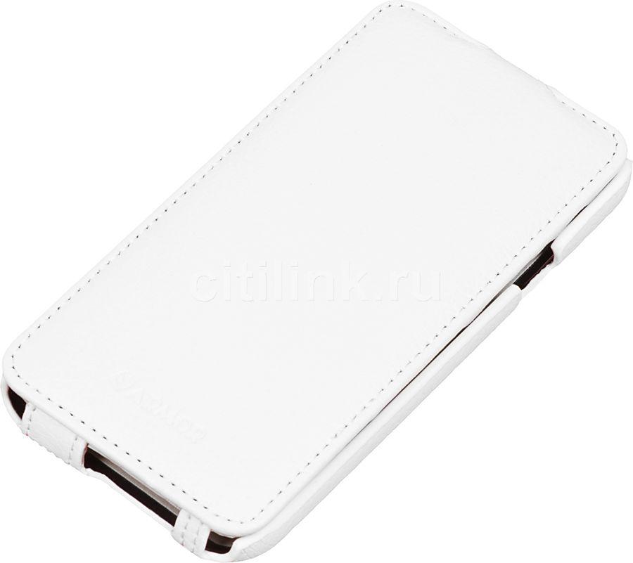 Чехол (флип-кейс) ARMOR-X flip full, для Samsung Galaxy E5, белый