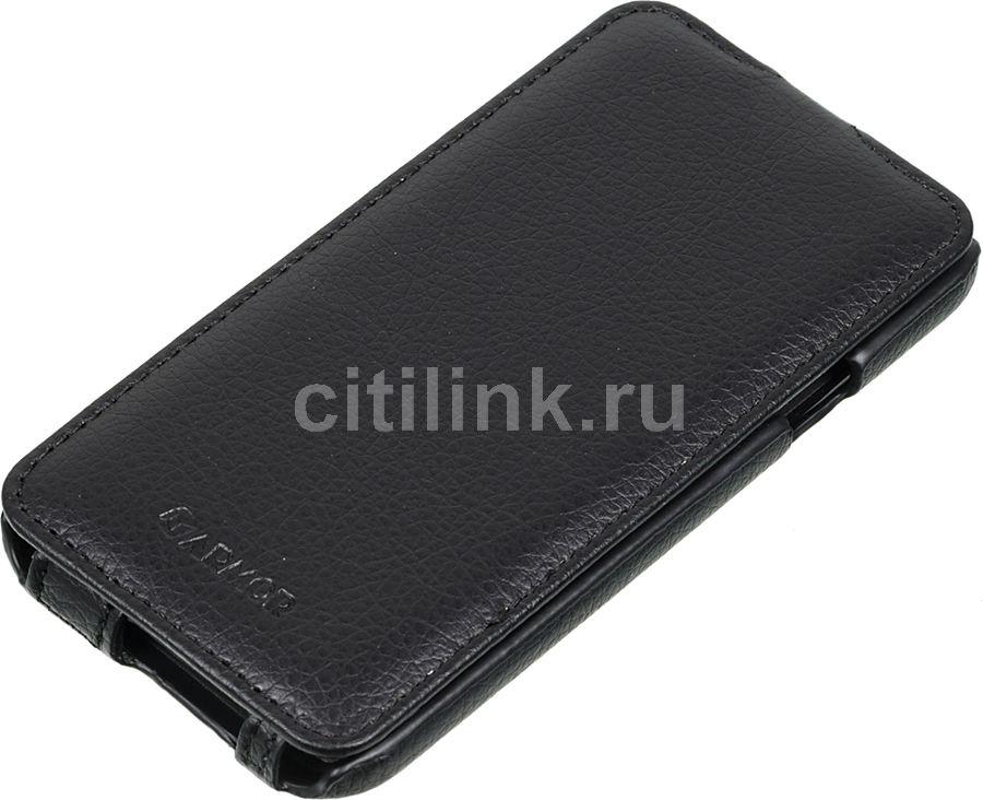 Чехол (флип-кейс) ARMOR-X flip full, для Samsung Galaxy E5, черный