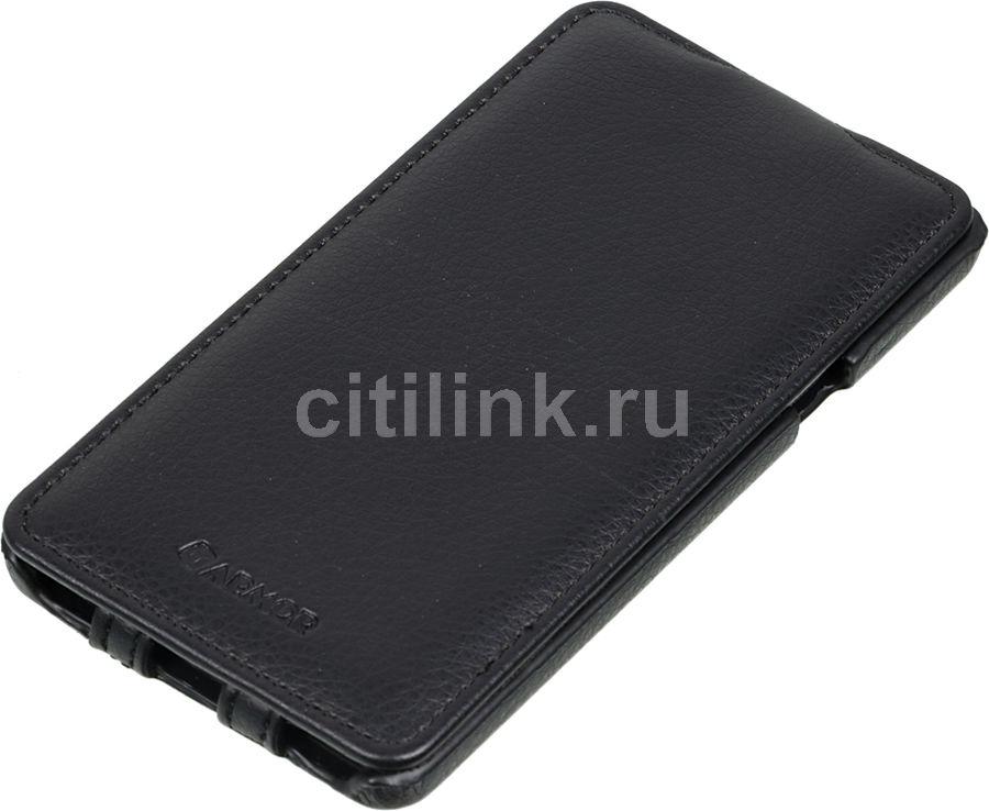 Чехол (флип-кейс) ARMOR-X flip full, для Samsung Galaxy A7, черный