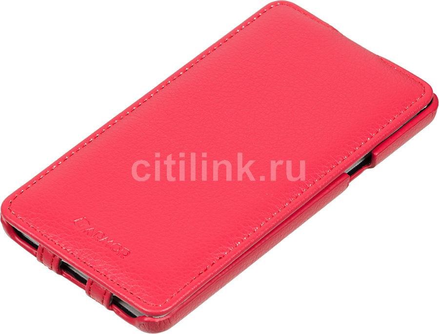Чехол (флип-кейс) ARMOR-X flip full, для Samsung Galaxy A7, красный