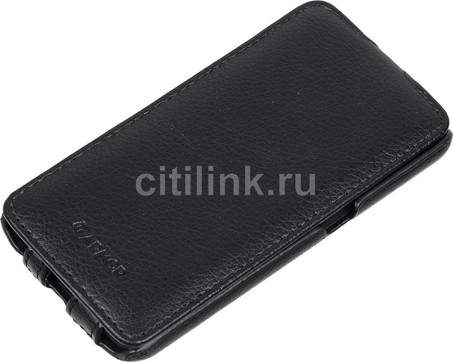 Чехол (флип-кейс) ARMOR-X flip full, для Samsung Galaxy S6, черный