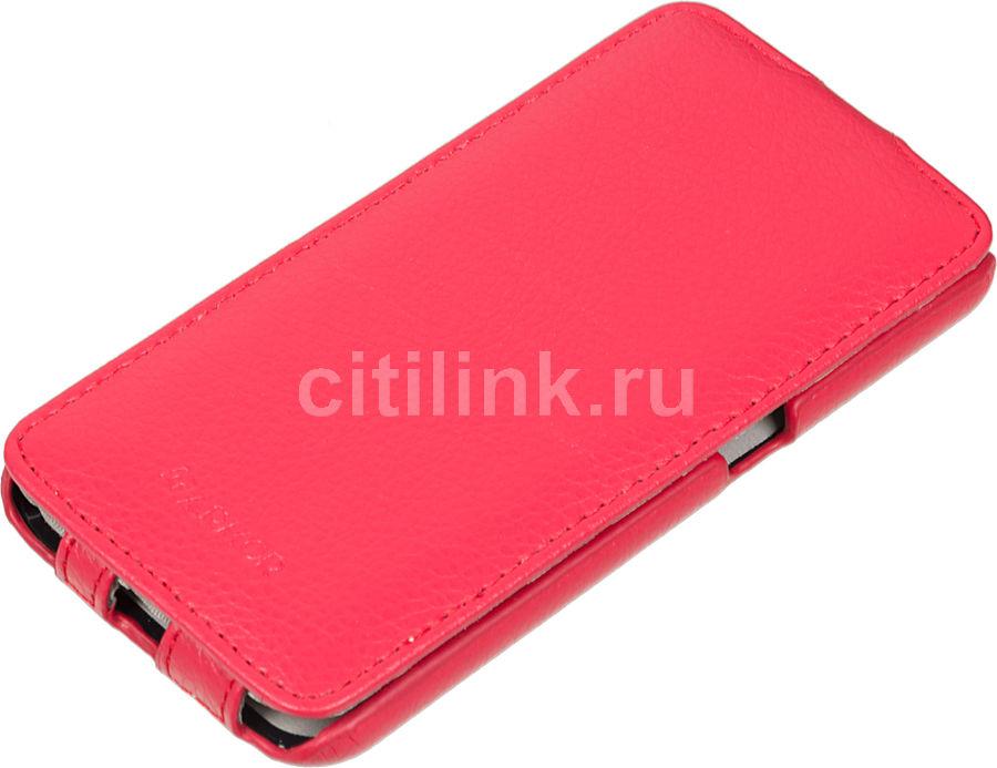 Чехол (флип-кейс) ARMOR-X flip full, для Samsung Galaxy S6, красный