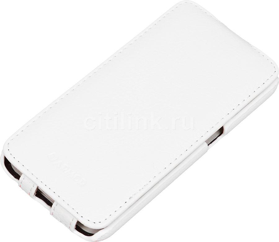Чехол (флип-кейс) ARMOR-X flip full, для Samsung Galaxy S6, белый