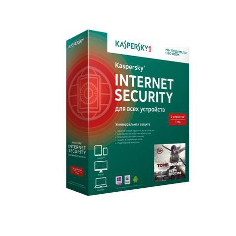 ПО Kaspersky Internet Security Multi-Device Russian Ed. 2-D Base Box+Tomb Raider (12мес) (KL1941RBBF [kl1941rbbfs]