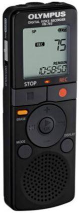 Диктофон OLYMPUS VN-765 4 Gb,  черный